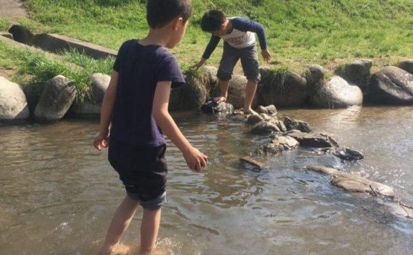 夏のせせらぎ公園
