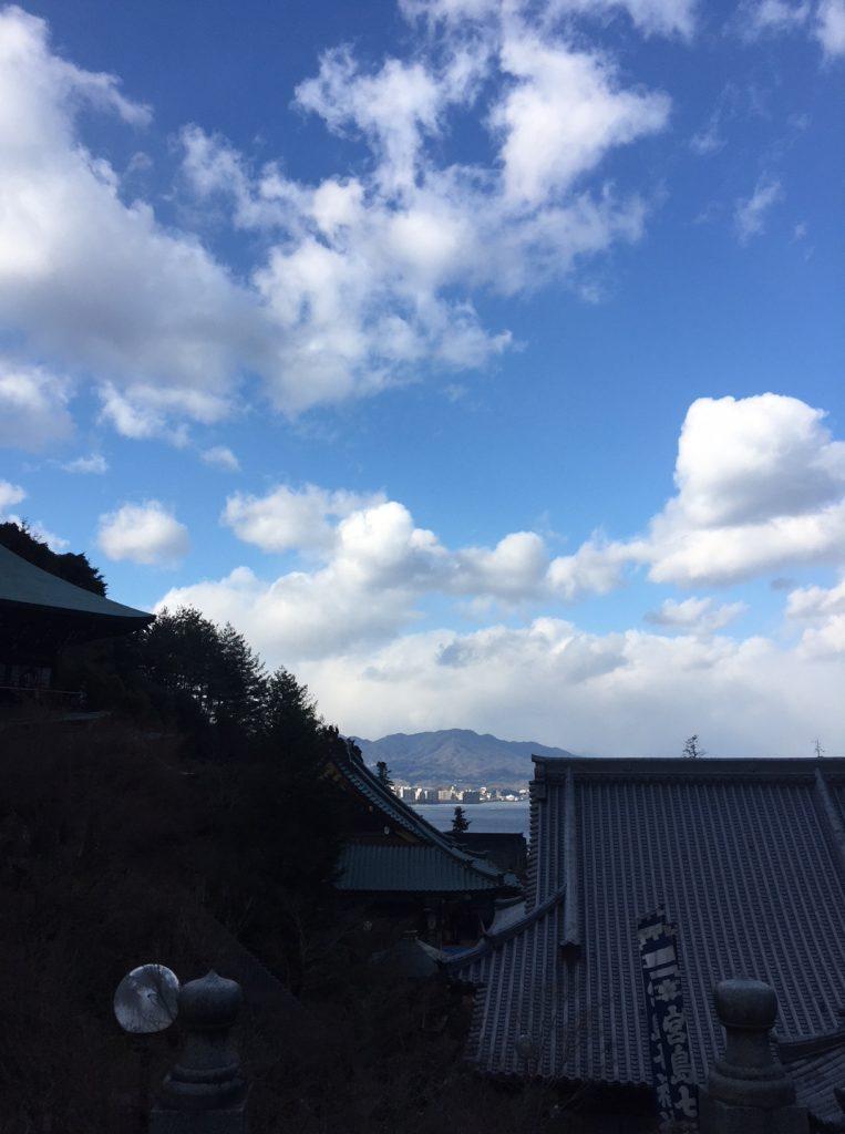 大聖院からの景色